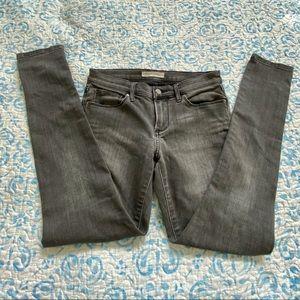 Banana Republic Grey Ripped Jeans / Size 26P